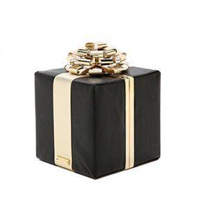 kate spade gift box clutch purse bag nwot